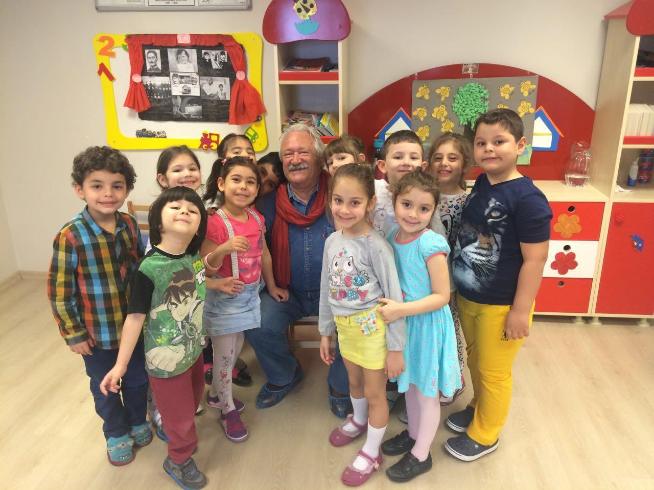Özel Tuzla  Happy Kids World Anaokulumuzu Erman Okay Ziyarete Geldi