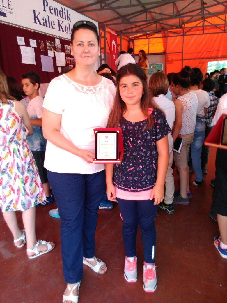 Özel Pendik Kale Ortaokulu 21. Monami Pastel Boya Resim Yarışması Birinciliği