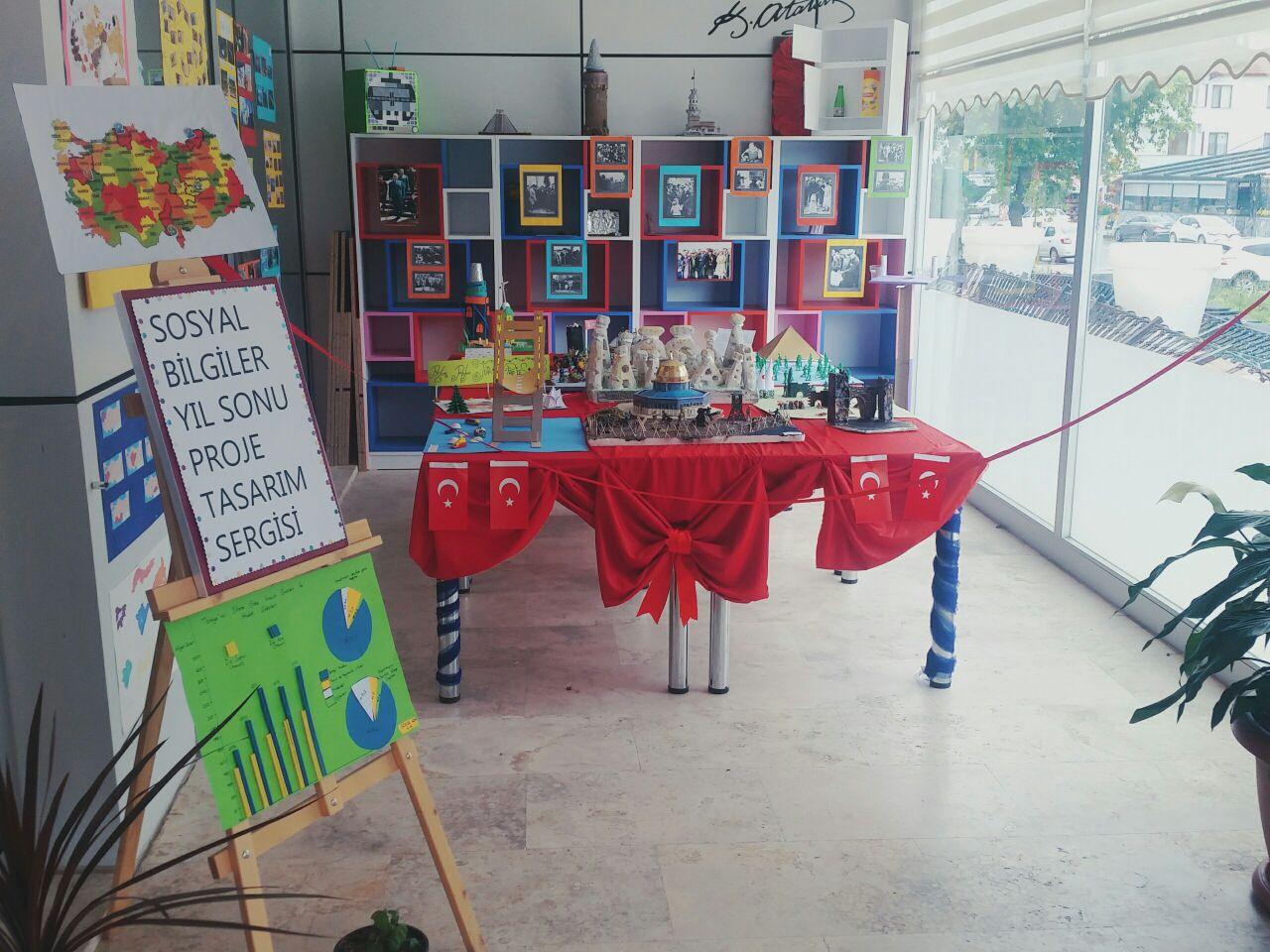 Özel Serdivan Kale Ortaokulu Sosyal Bilgiler Yıl Sonu Proje Tasarım Sergisi