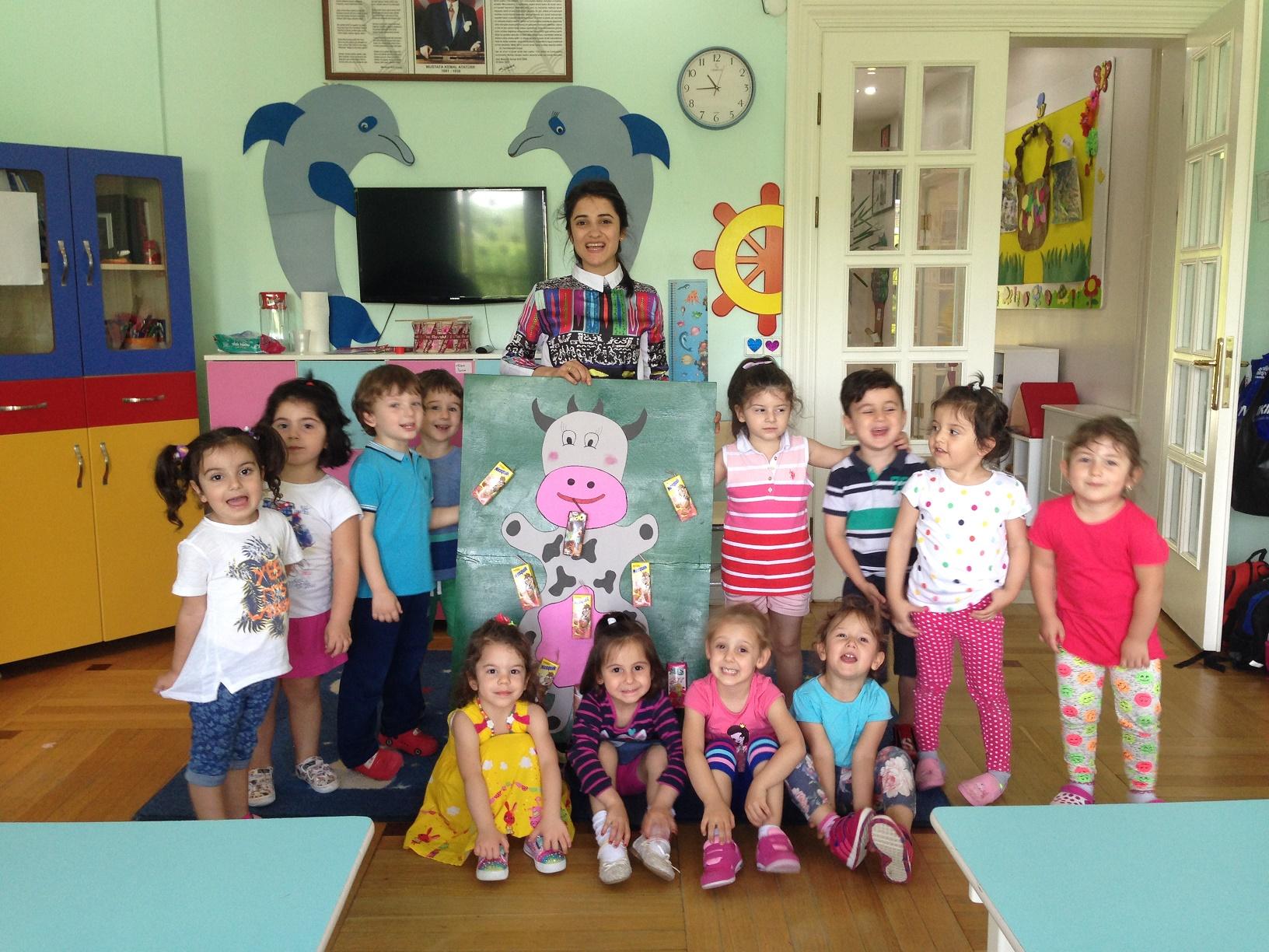Yunuslar Sınıfı 3-4 yaş  Proje Çalışması