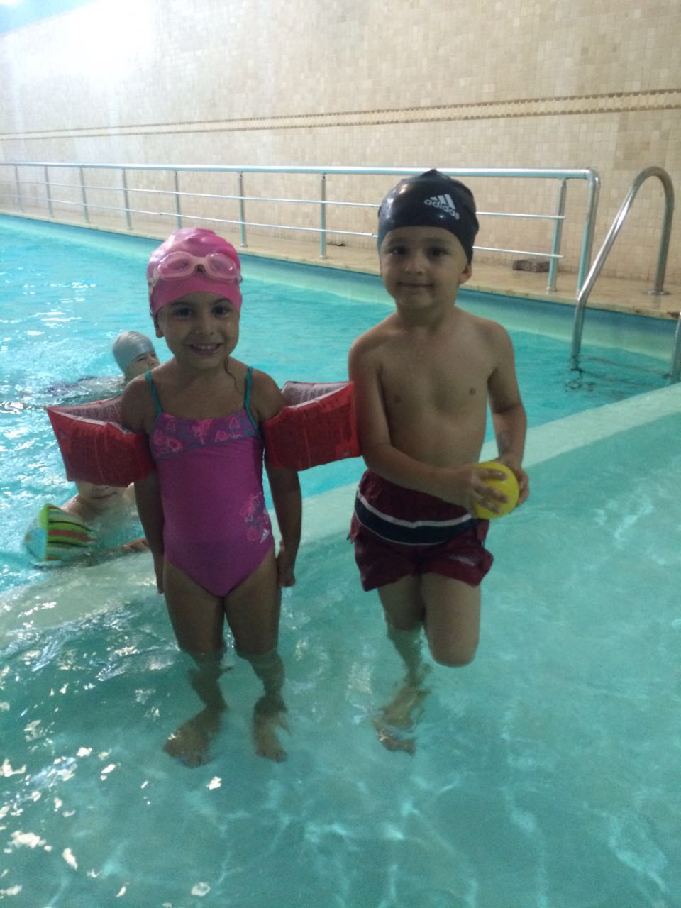 Anaokulu Yüzme Dersi