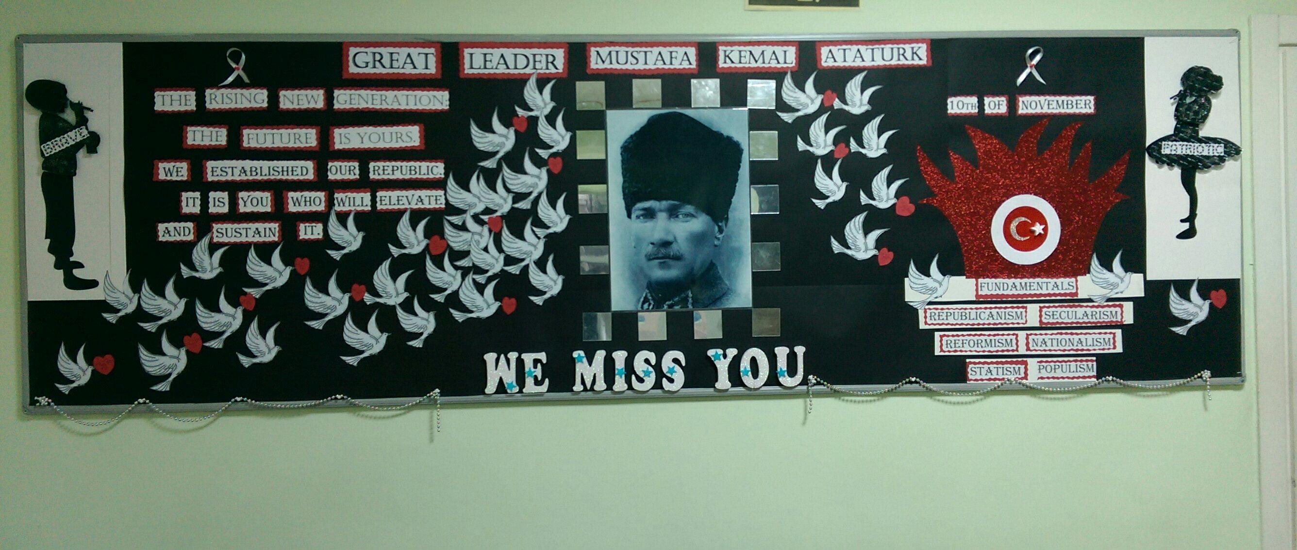 Ata'mızı Saygıyla Anıyoruz