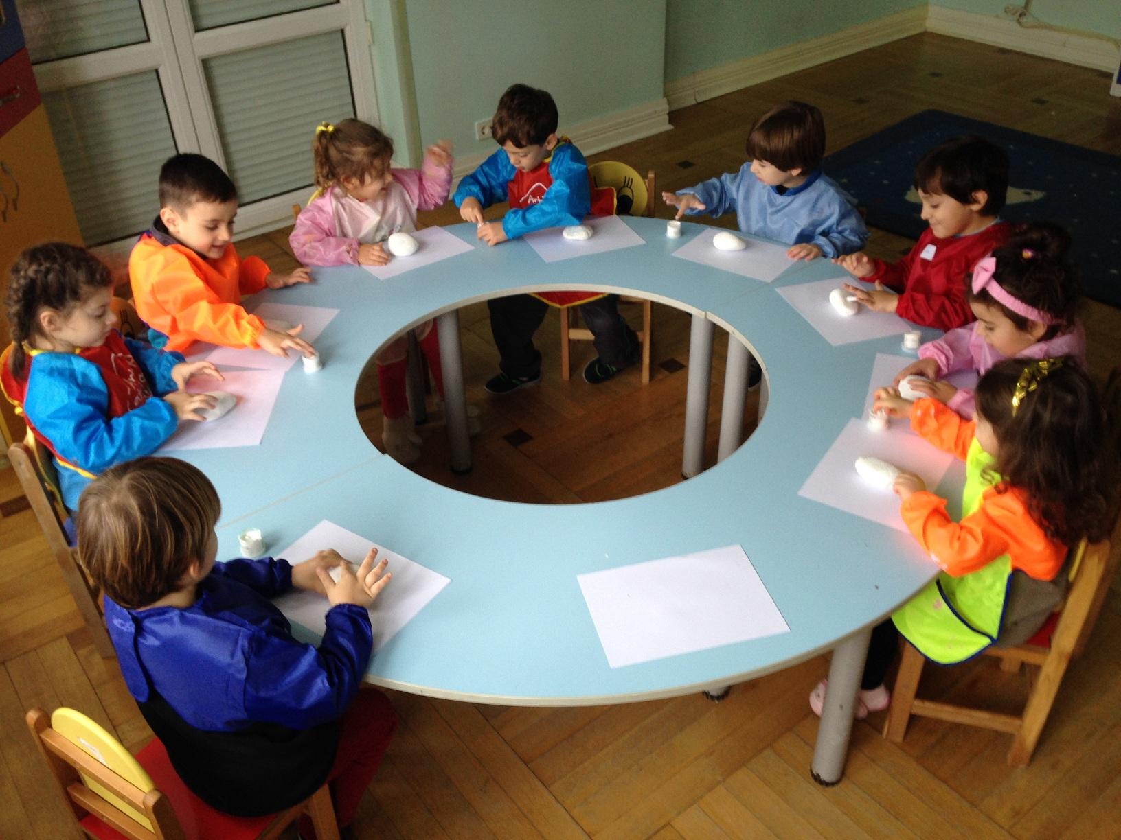 Yunuslar Sınıfı Sanat Etkinliği Çalışması