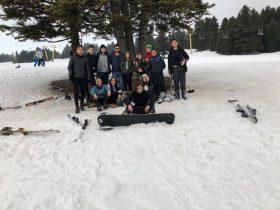 Özel Tuzla Kale Anadolu Lisesi Şubat ayında ''Uludağ'a'' gezi düzenleyerek öğrencilerine unutulmaz g