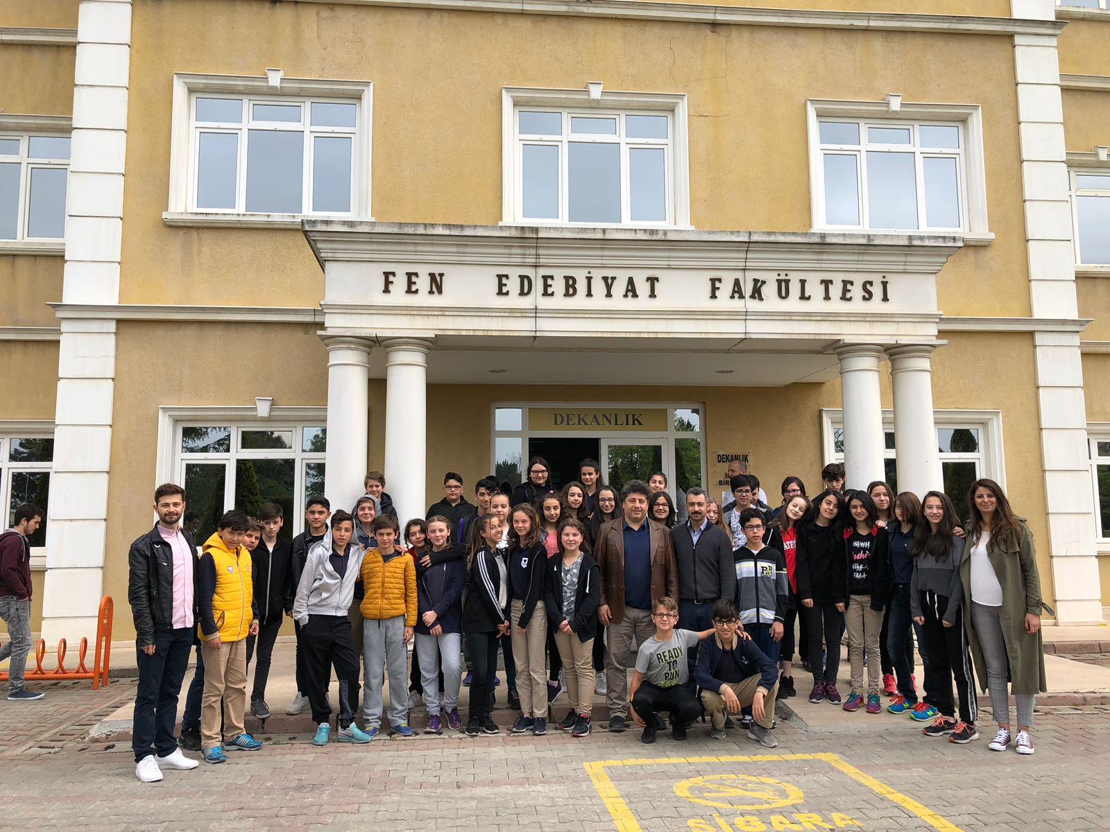 Sakarya üniversitesi arge direktörü Prof.Dr Hakan Soyhan ziyareti