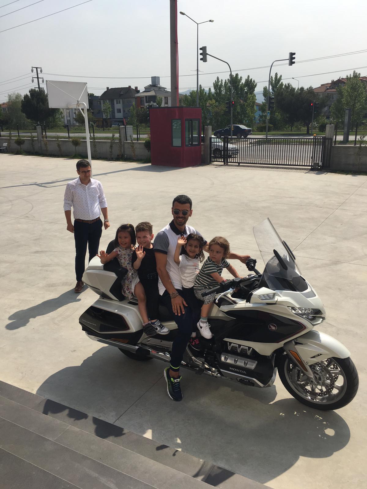 Özel Serdivan Kale İlkokulu Motorsiklet Keyfi