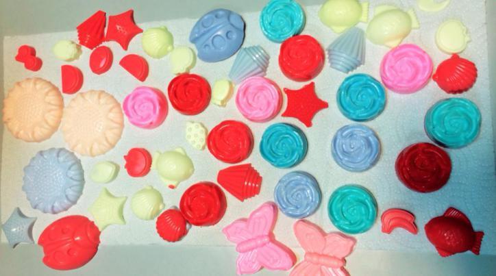 Rengarenk ve Mis Kokulu Sabunlarımız