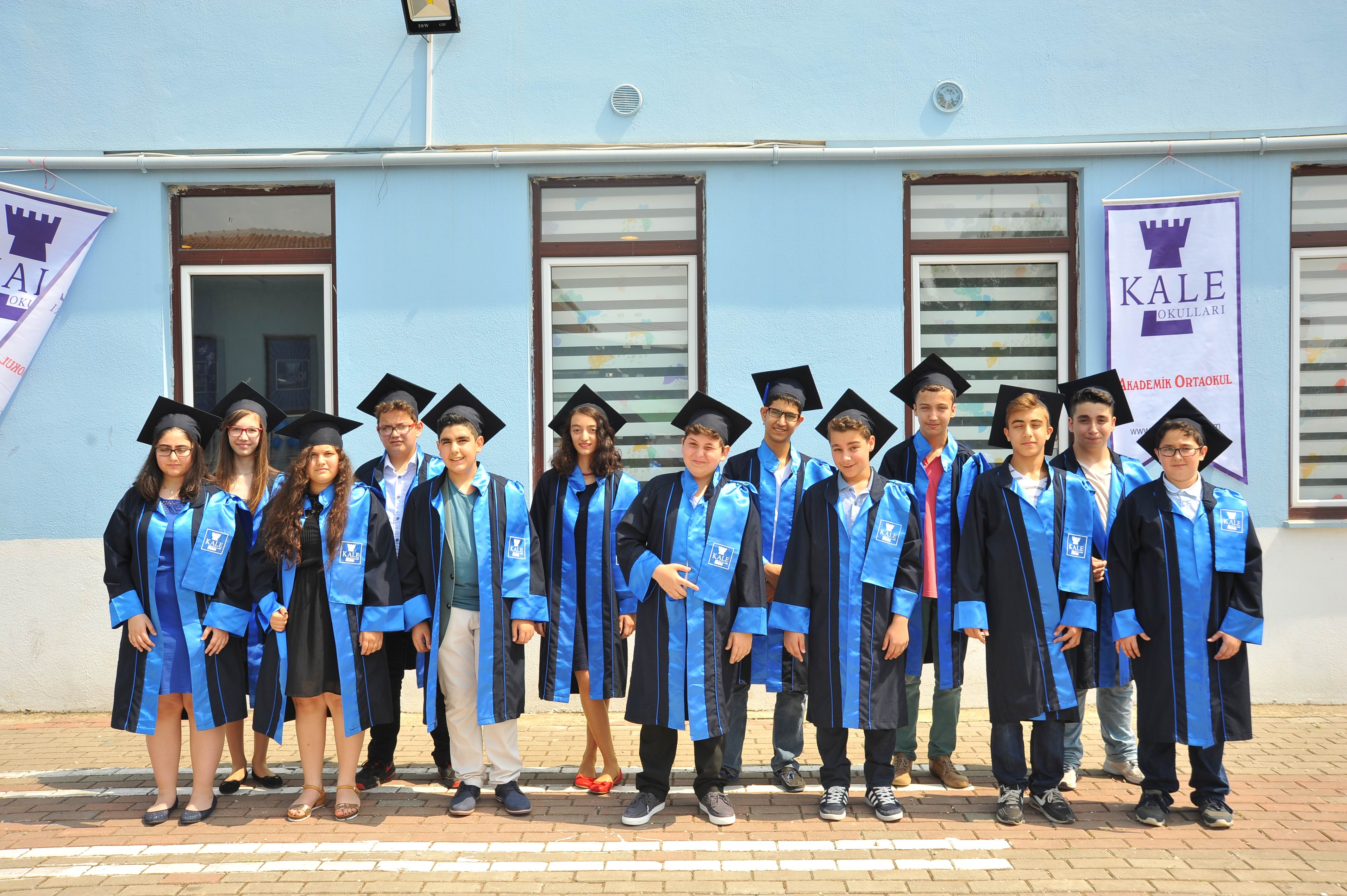 8. Sınıf Öğrencilerimizin Sene Sonu Kep Töreni
