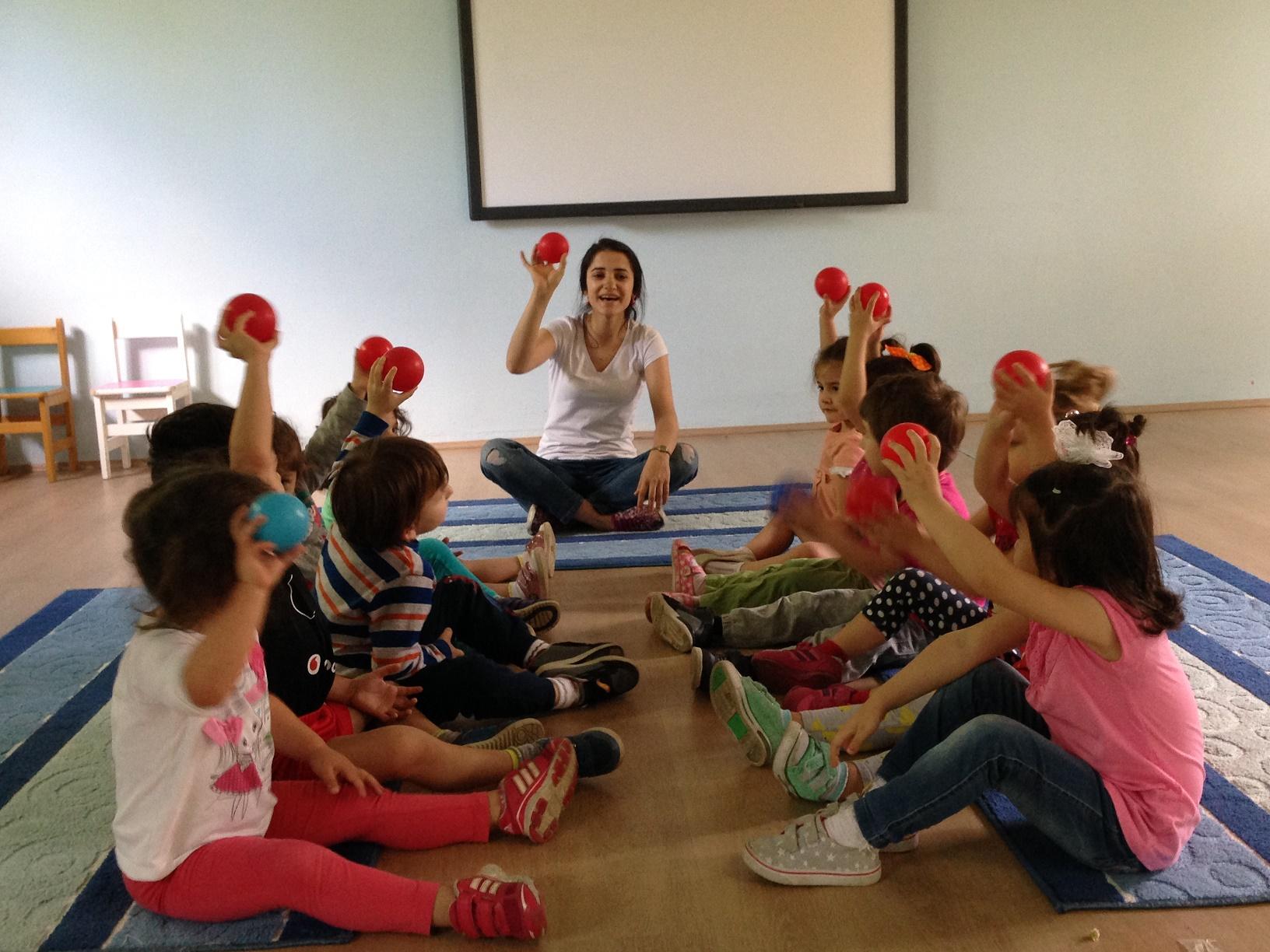 Yunuslar Sınıfı 3-4 Yaş  Bilişsel Oyun Etkinliği