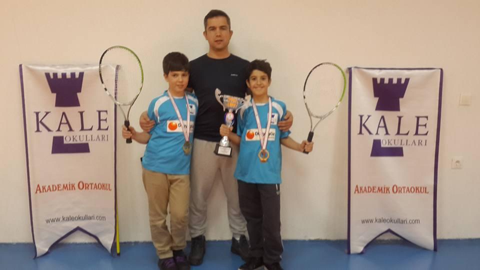 Okullar Arası Küçük Erkekler Kort Tenisi Turnuvası İl Birinciliği